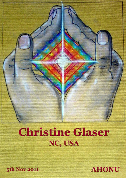 Painting - Christine Glaser by Ahonu