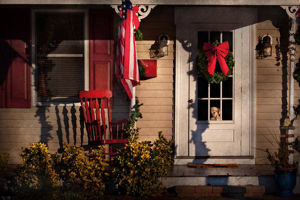 Photograph - Christmas - Clinton Nj - How Much Is That Doggy In The Window by Mike Savad
