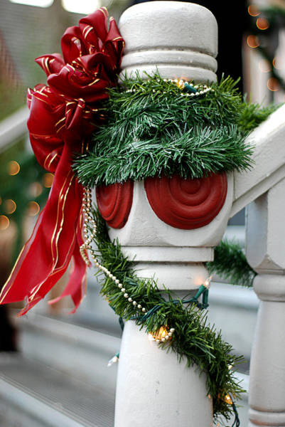 Photograph - Christmas Decorations by Melany Sarafis