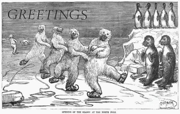 Photograph - Christmas: Polar Bears by Granger