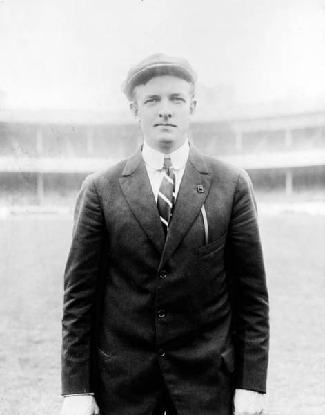 Baseball Hall Of Fame Photograph - Christy Mathewson - Major League Baseball Player by International  Images