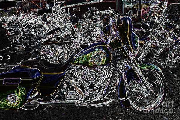 Photograph - Chrome And Paint by Anthony Wilkening