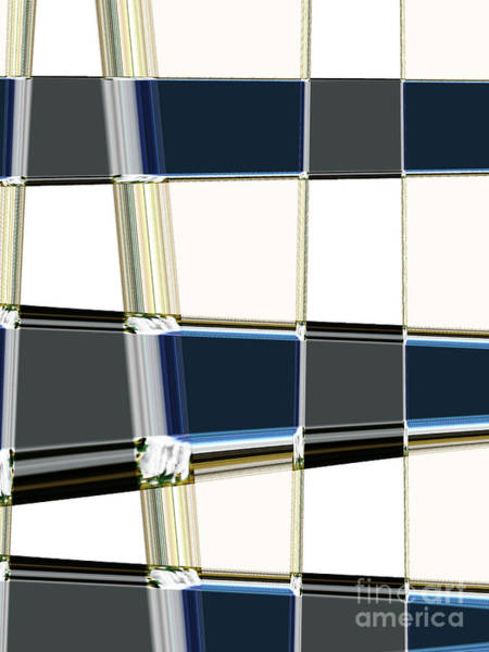 Elation Digital Art - Chrome by Lj Lambert