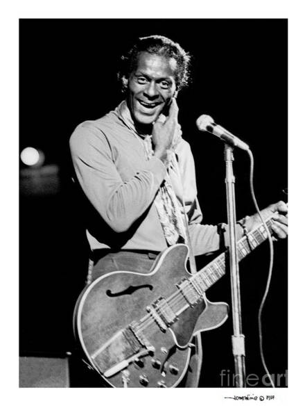 Photograph - Chuck Berry 1 by Jonathan Fine