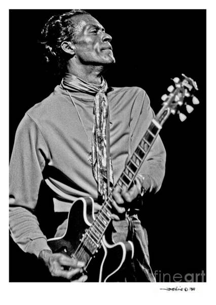 Chuck Berry 2 Art Print