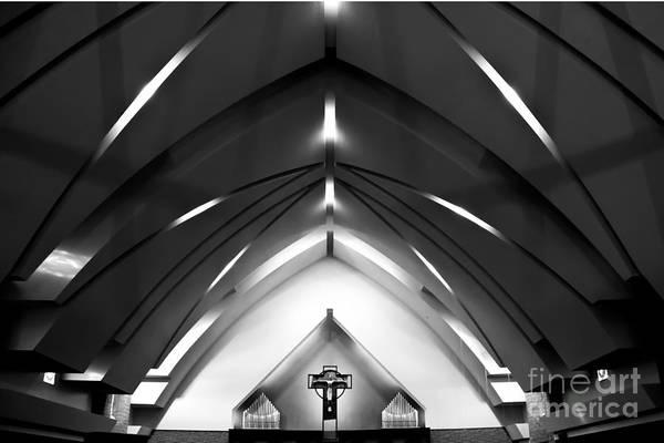 Photograph - Church Architecture by Rachel Duchesne