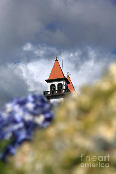 Acores Photograph - Church At Furnas by Gaspar Avila