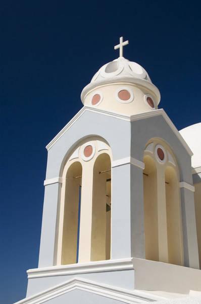 Wall Art - Photograph - Church Bell Tower by Gloria & Richard Maschmeyer
