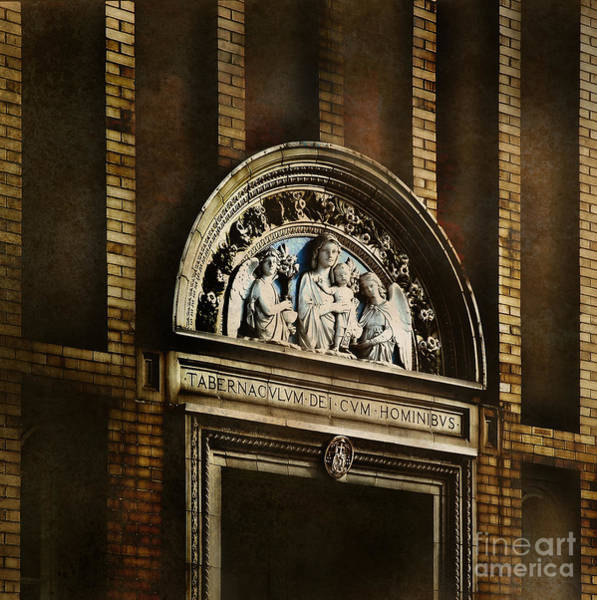 Holy Spirit Photograph - Church Detail by HD Connelly