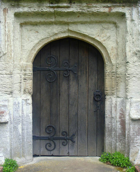 Photograph - Church Door by Roberto Alamino