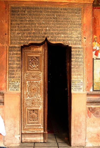 Photograph - Church Entrance by Emanuel Tanjala