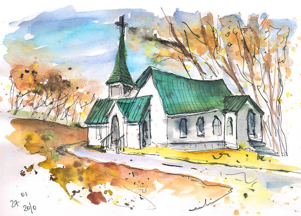 Painting - Church In Friars Point Mississippi by Miki De Goodaboom