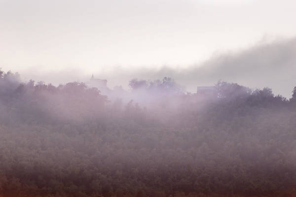 Wall Art - Photograph - Church In The Fog by Joana Kruse