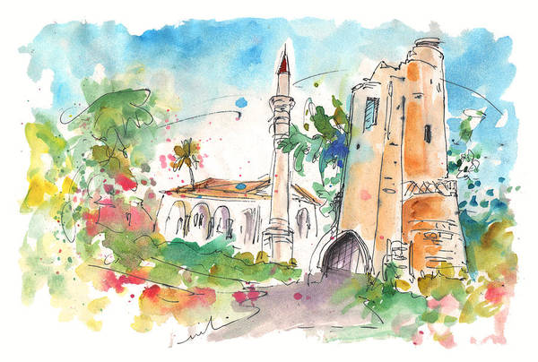Painting - Church In Turkish Nicosia by Miki De Goodaboom