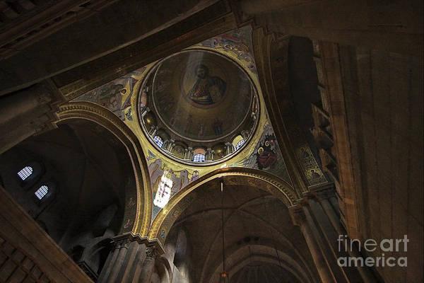 Church Of The Holy Sepulcher Photograph - church of the holy sepulchre Jerusalem by Vladi Alon