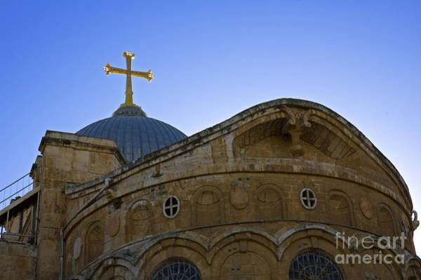 Church Of The Holy Sepulcher Photograph - church of the Holy Sepulchre Old city Jerusalem by Ilan Rosen