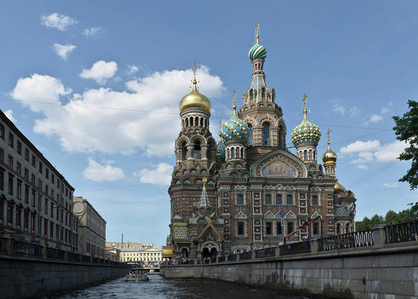 Photograph - Church Of The Savior On Spilled Blood by Michael Goyberg