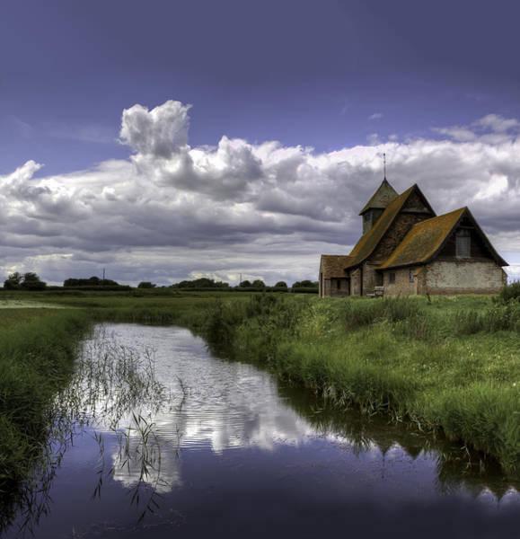 Wall Art - Photograph - Church On The Marshes by Nigel Jones