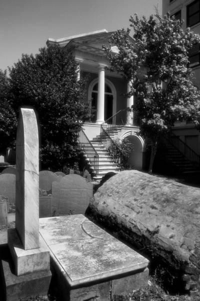 Grave Yard Photograph - Churchyard Of The Circular Congregational Church by Steven Ainsworth