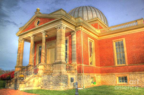 Photograph - Cincinnati Observatory Up Close by Jeremy Lankford