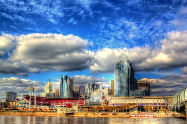 Photograph - Cincinnati Skyline 2012 - 2 by Jeremy Lankford