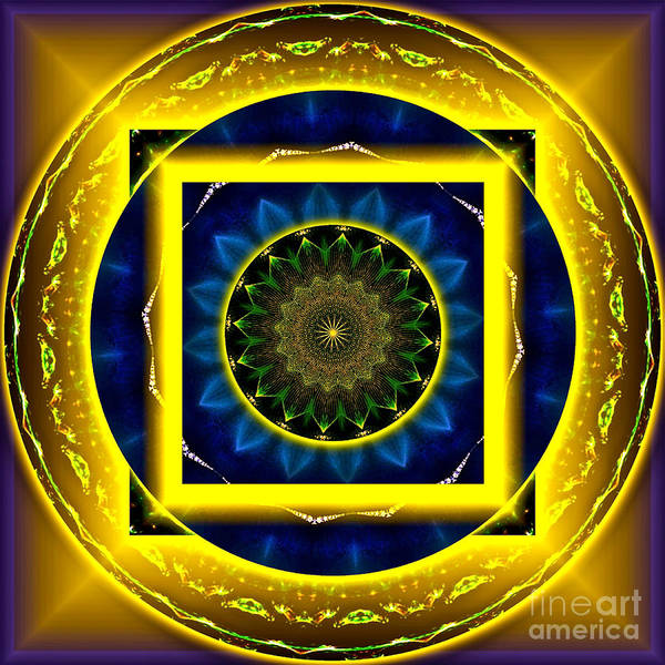 Clarity Digital Art - Circle Of Power by Rotaunja