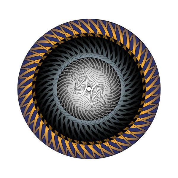Digital Art - Circle Study No. 309 by Alan Bennington