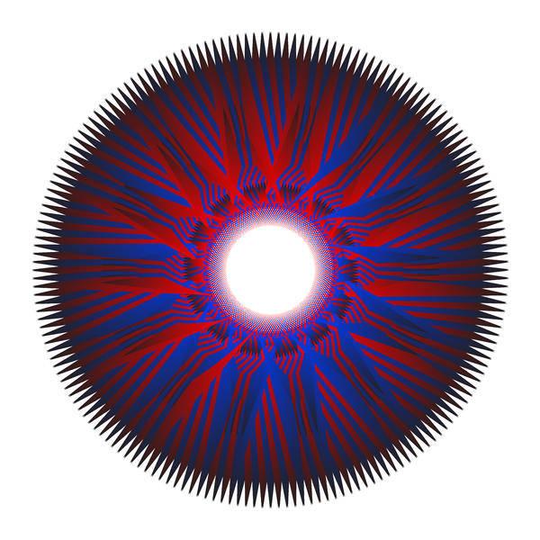 Digital Art - Circle Study No.56 by Alan Bennington