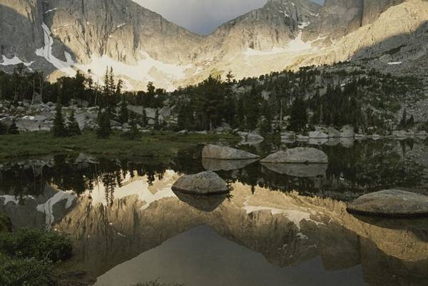 Wind River Range Wall Art - Photograph - Cirque Of The Towers, Lonesome Lake by Raymond Gehman