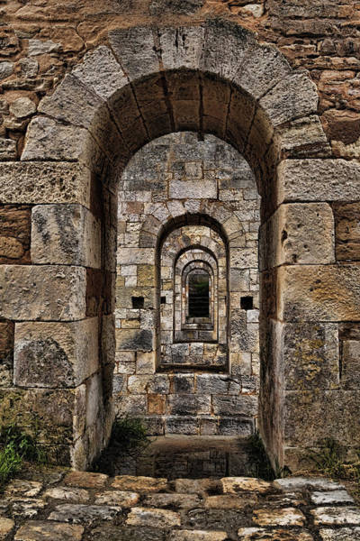 Photograph - Citadelle Bridge Arch by Wes and Dotty Weber
