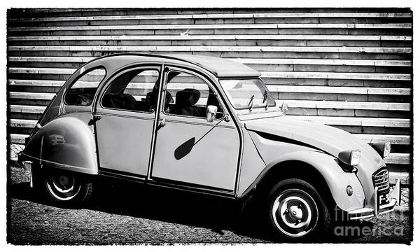 Photograph - Citroen Deux Cheveux by John Rizzuto