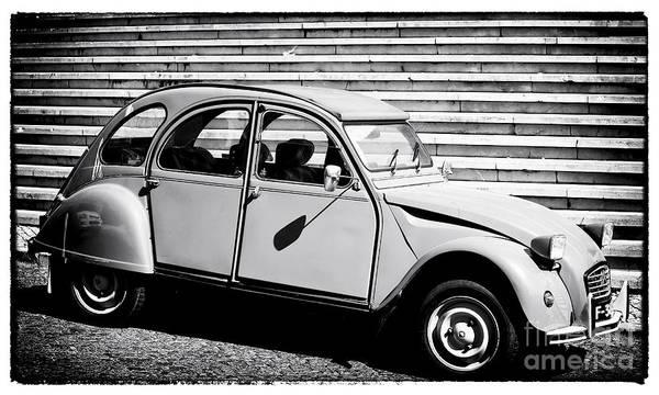 Wall Art - Photograph - Citroen Deux Cheveux by John Rizzuto