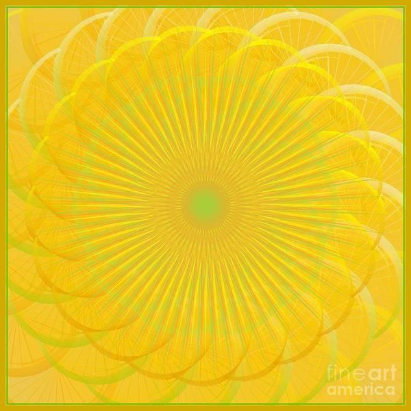Digital Art - Citrus Serenade 2012 by Kathryn Strick