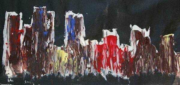 James Johnson Painting - City 1 by James Johnson