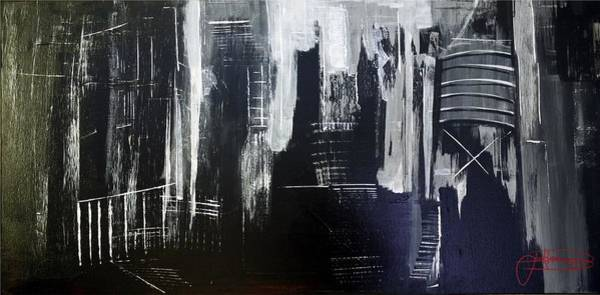 Painting - City Abstract by Jack Diamond