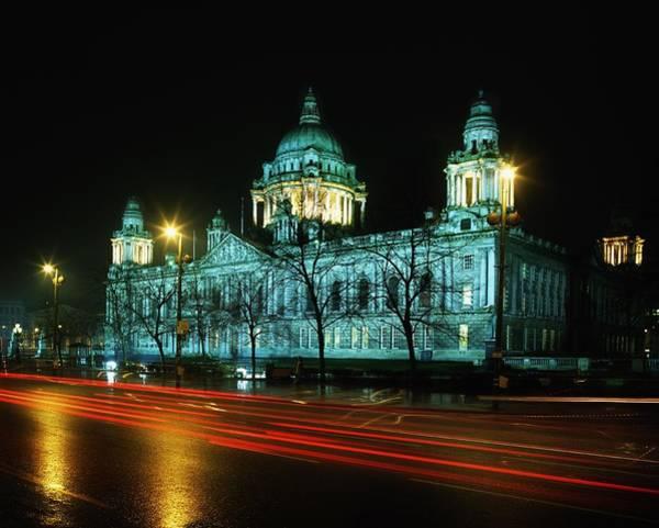 Horizontally Photograph - City Hall, Belfast, Ireland by The Irish Image Collection