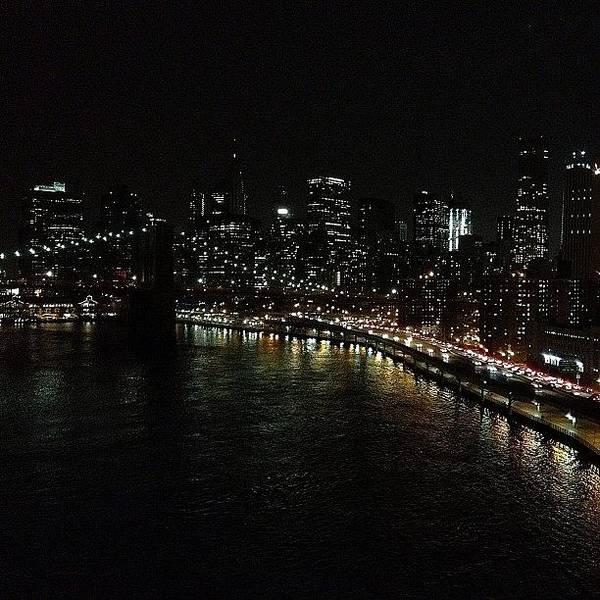 Road Photograph - City Lights - New York by Joel Lopez