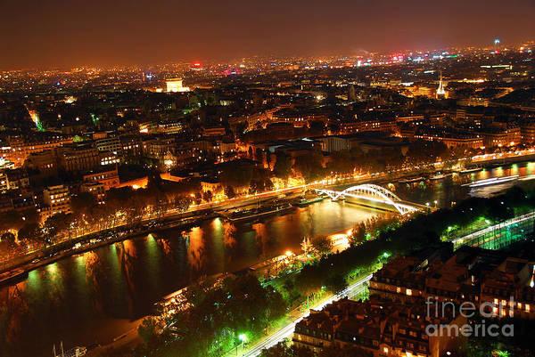 Paris Rooftop Photograph - City Of Light by Elena Elisseeva