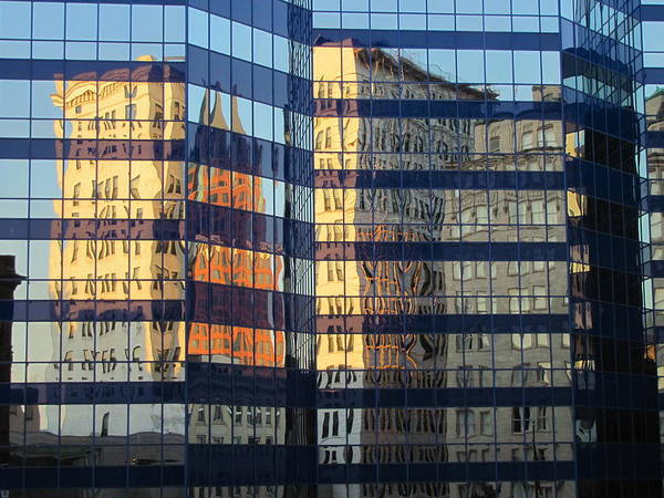 Photograph - City Reflections 2 by Anita Burgermeister
