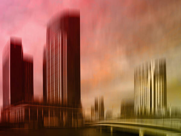 City Shapes Melbourne II Art Print