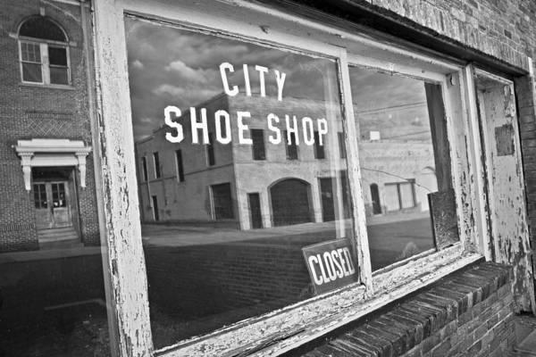 Photograph - City Shoe Shop by Patrick M Lynch