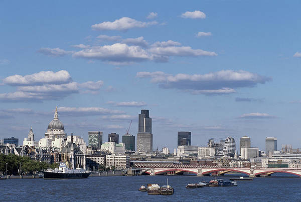Photograph - City Skyline In London by Paul Thomas