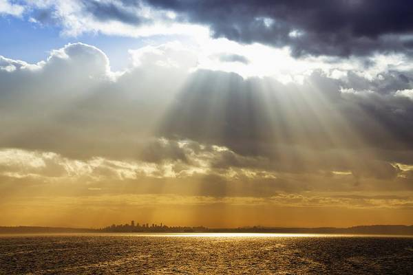 Wall Art - Photograph - City Under The Heavens by Julius Reque