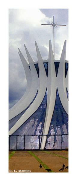 Photograph - Citymarks Brasilia by Roberto Alamino