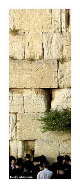 Photograph - Citymarks Jerusalem by Roberto Alamino