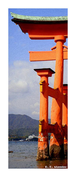 Photograph - Citymarks Miyajima by Roberto Alamino