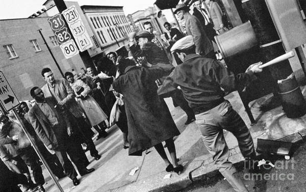 Photograph - Civil Rights, 1960 by Granger