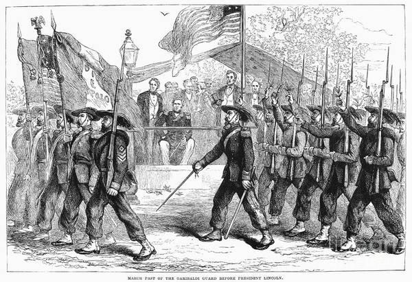 Italian Immigrants Wall Art - Photograph - Civil War: 39th Regiment by Granger