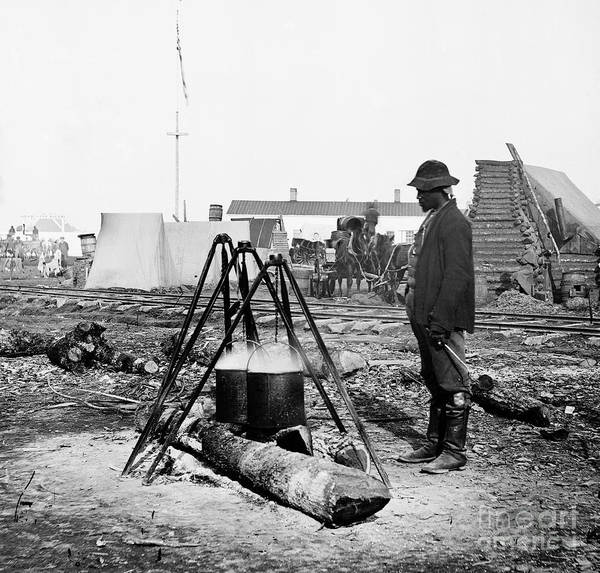 Photograph - Civil War: Army Cook by Granger