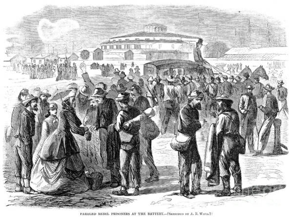 Amnesty Photograph - Civil War: Parole, 1865 by Granger